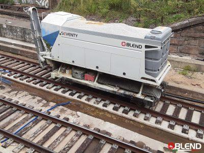 Planta ferroviaria de hormigon